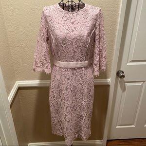 Eva Mendes Collection Lace sheath dress, Medium